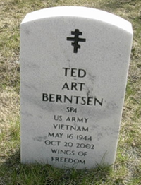 Ted Art Berntsen US Army Vietnam